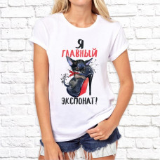 """Футболка """"Женский принт"""" 5"""